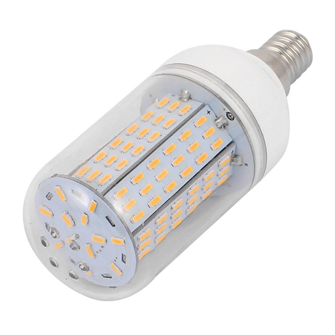 AC110V 12W 139 x 4014LED E14 Corn Bulb Light Lamp Energy Saving Warm White