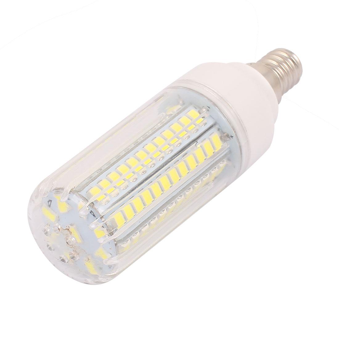 AC110V 9W 96 x 5736SMD E14 LED Corn Bulb Light Lamp Energy Saving Pure White