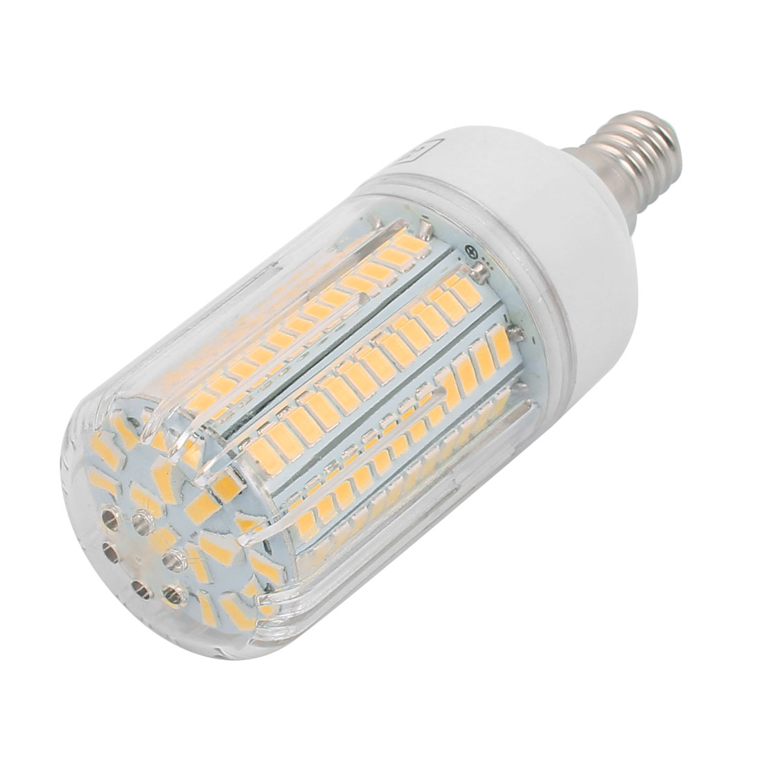 AC110V 12W 136 x 5736SMD E14 LED Corn Bulb Light Lamp Energy Saving Warm White