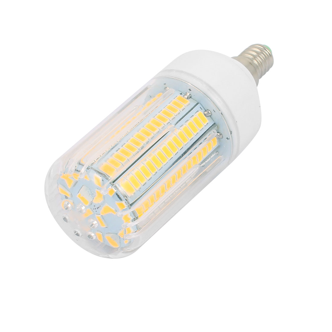 AC110V 15W 165 x 5736SMD E14 LED Corn Bulb Light Lamp Energy Saving Warm White