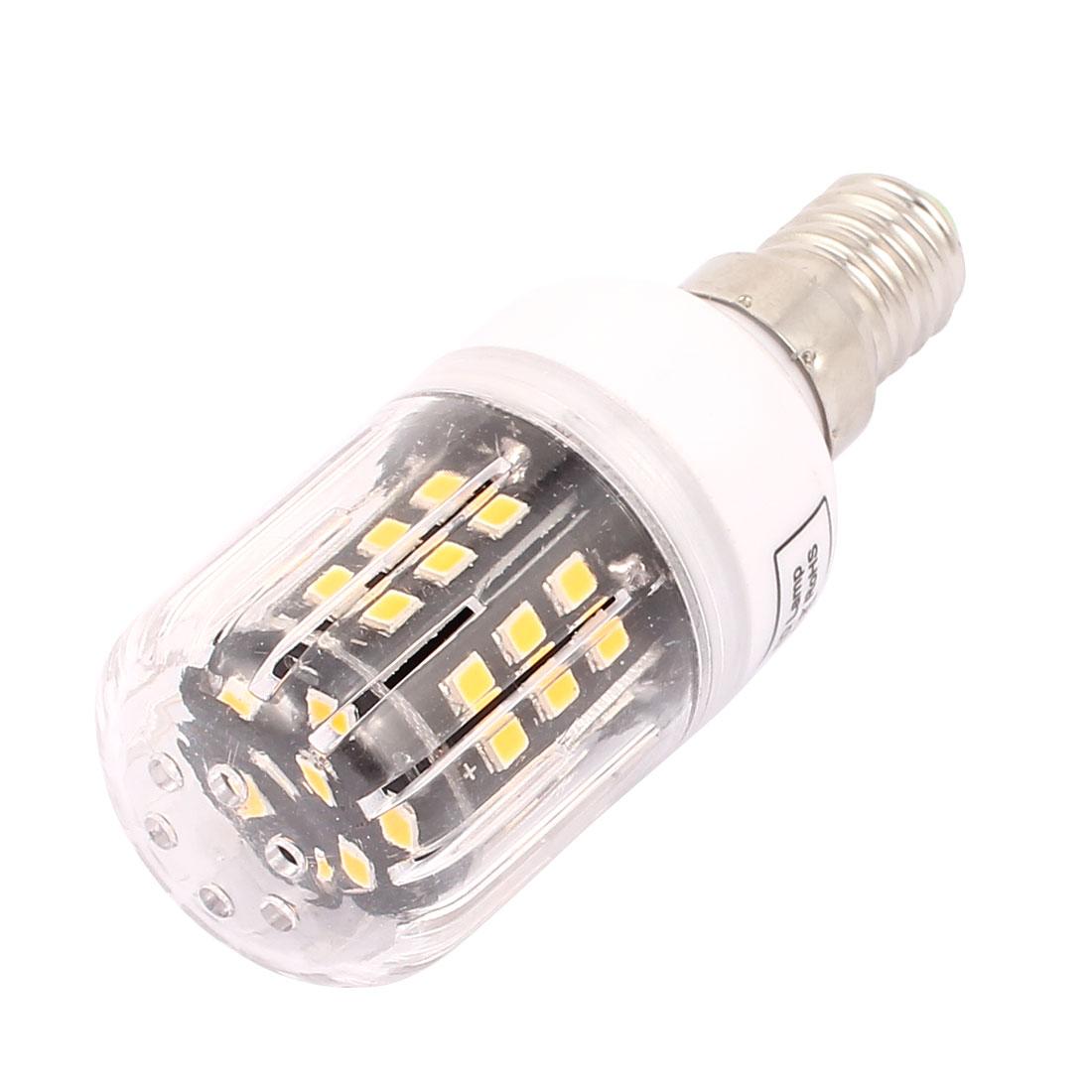 AC110V 3W 42 x 2835LED E14 Corn Bulb Light Lamp Energy Saving Warm White