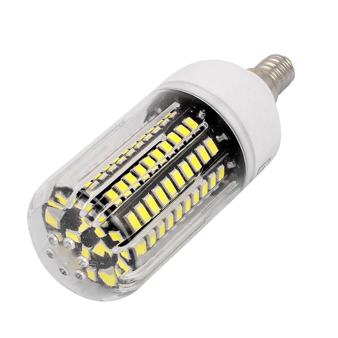 85V~265V 12W 120 x 5736SMD E14 LED Corn Bulb Light Lamp Energy Saving Pure White