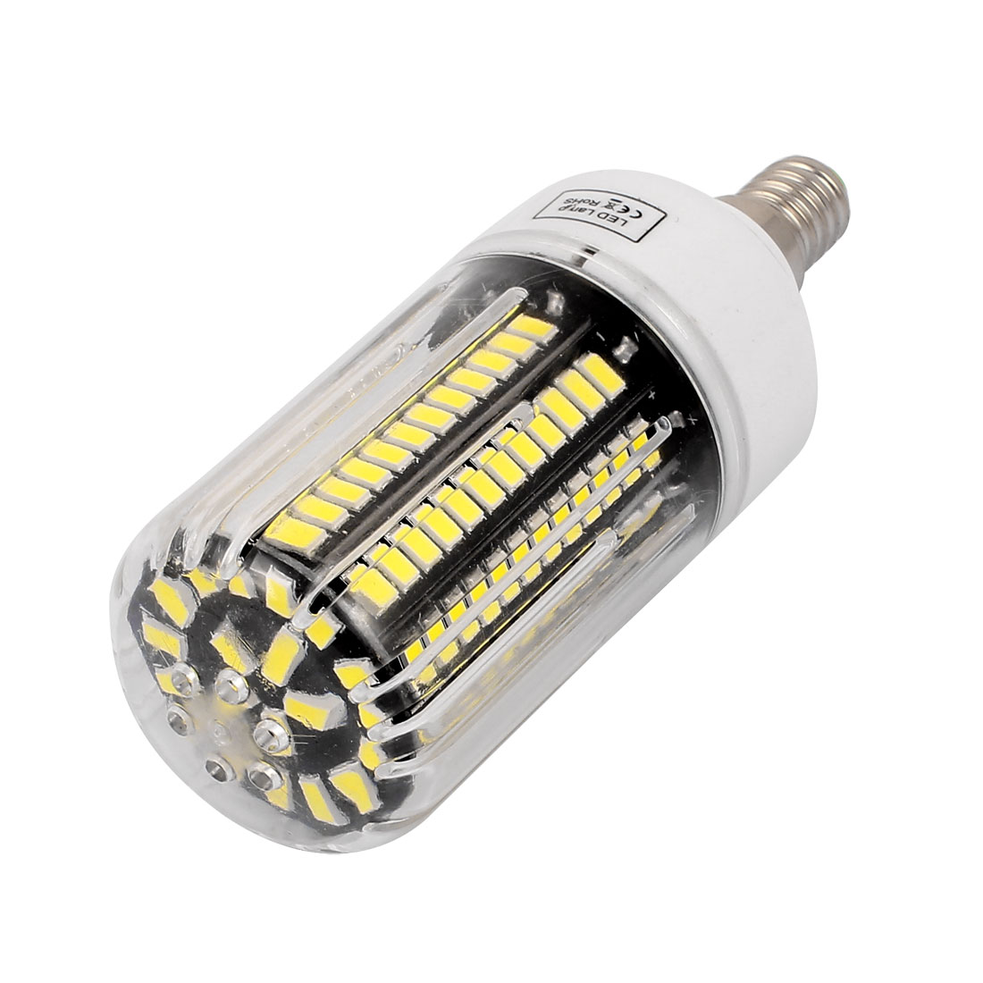 85V~265V 18W 140 x 5736SMD E14 LED Corn Bulb Light Lamp Energy Saving Pure White