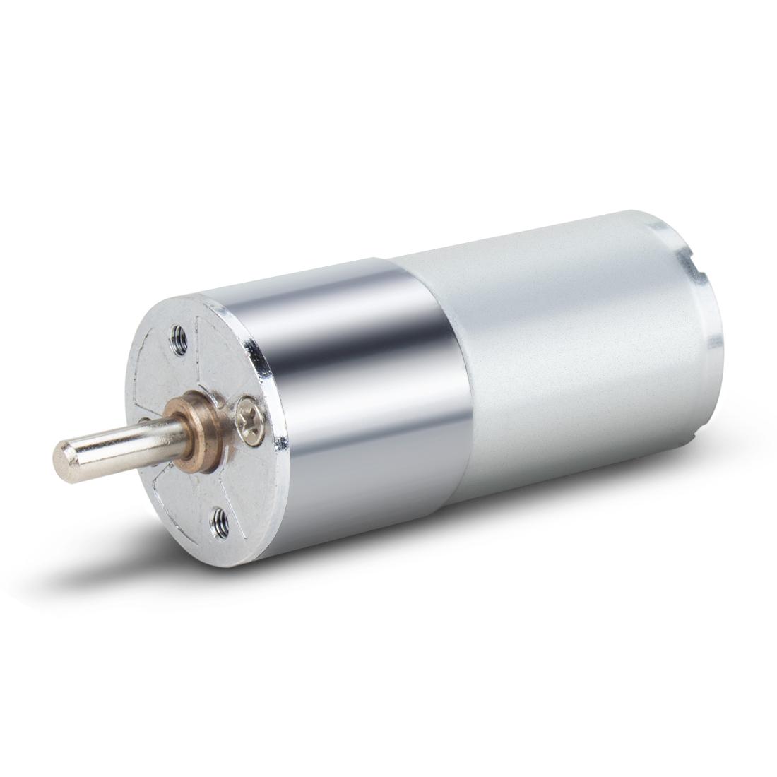 ZGA25RP DC 12V 80RPM Micro Gear Box Motor Speed Reduction Centric Output Shaft