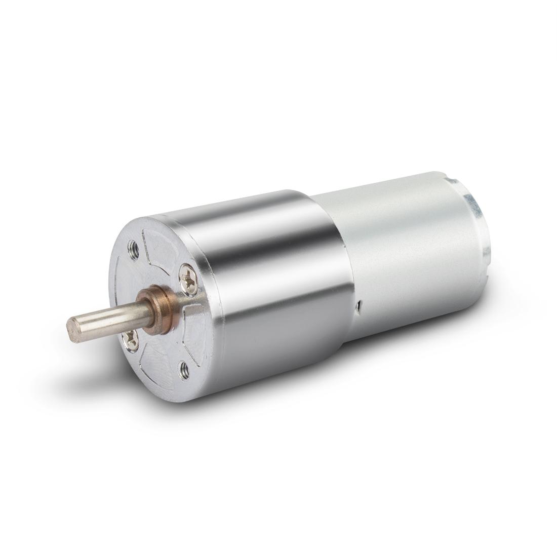 ZGA28RP DC 24V 5RPM Micro Gear Box Motor Speed Reduction Centric Output Shaft