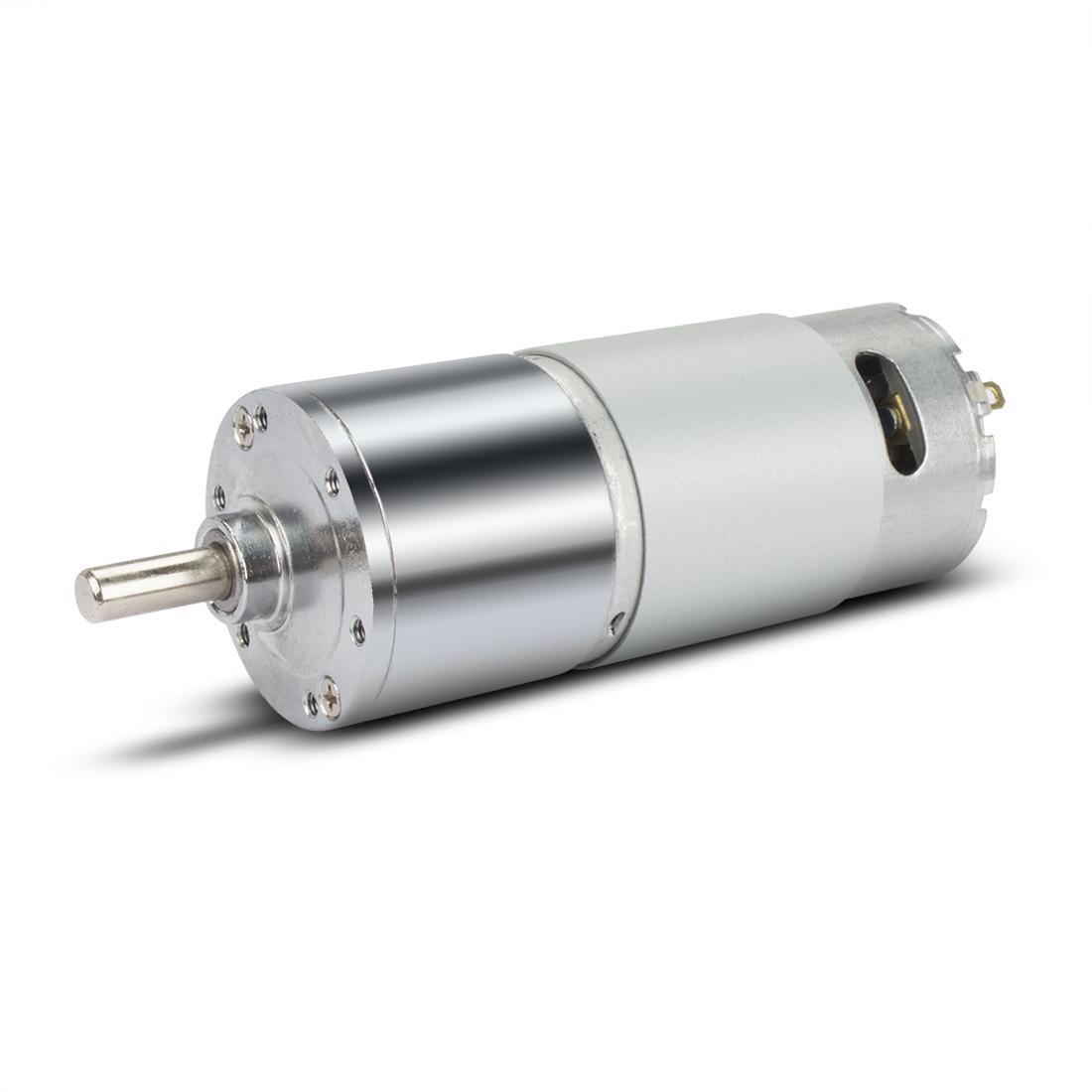 ZGB37RH DC 12V 60RPM Micro Gear Box Motor Speed Reduction Eccentric Output Shaft