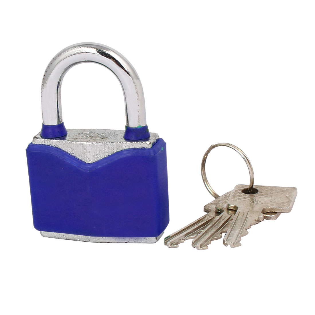 Tool Box Cabinet Metal Safety Locker Padlock 61x43x19mm w Keys