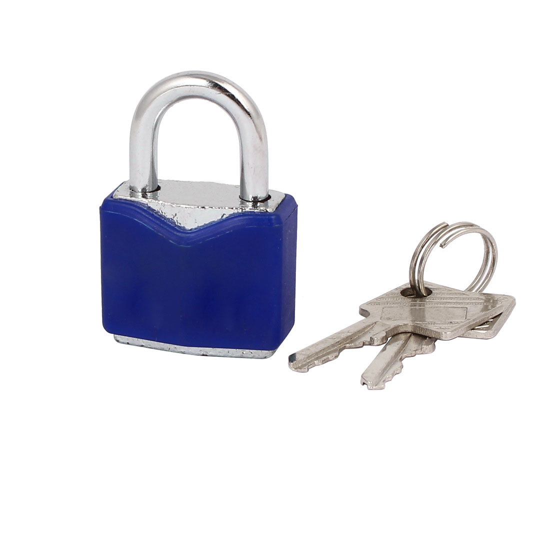 Tool Box Drawer Metal Safety Locker Padlock 42x28x15mm w Keys