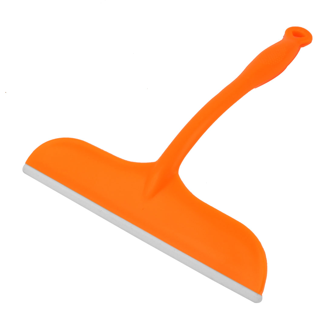 Household Kitchen Car Auto Window Glass Mirror Cleaning Tool Wiper Scraper Brush Squeegee Orange