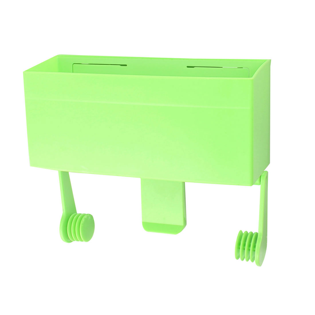 Household Plastic Refrigerator Fresh Food Wrap Film Roll Bag Holder Storage Case Green