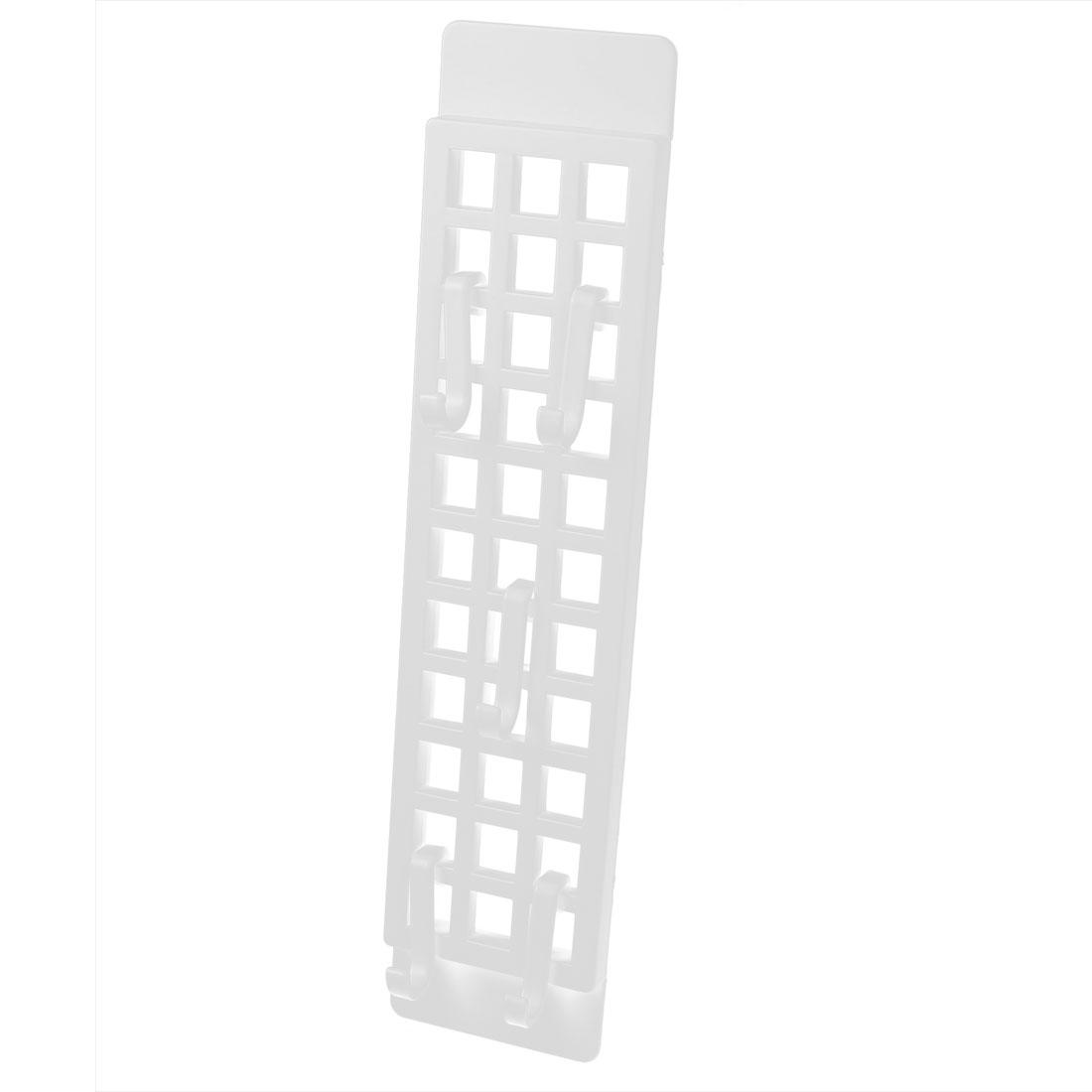 Household Kitchenware Plastic Spoon Accessories Hanger White