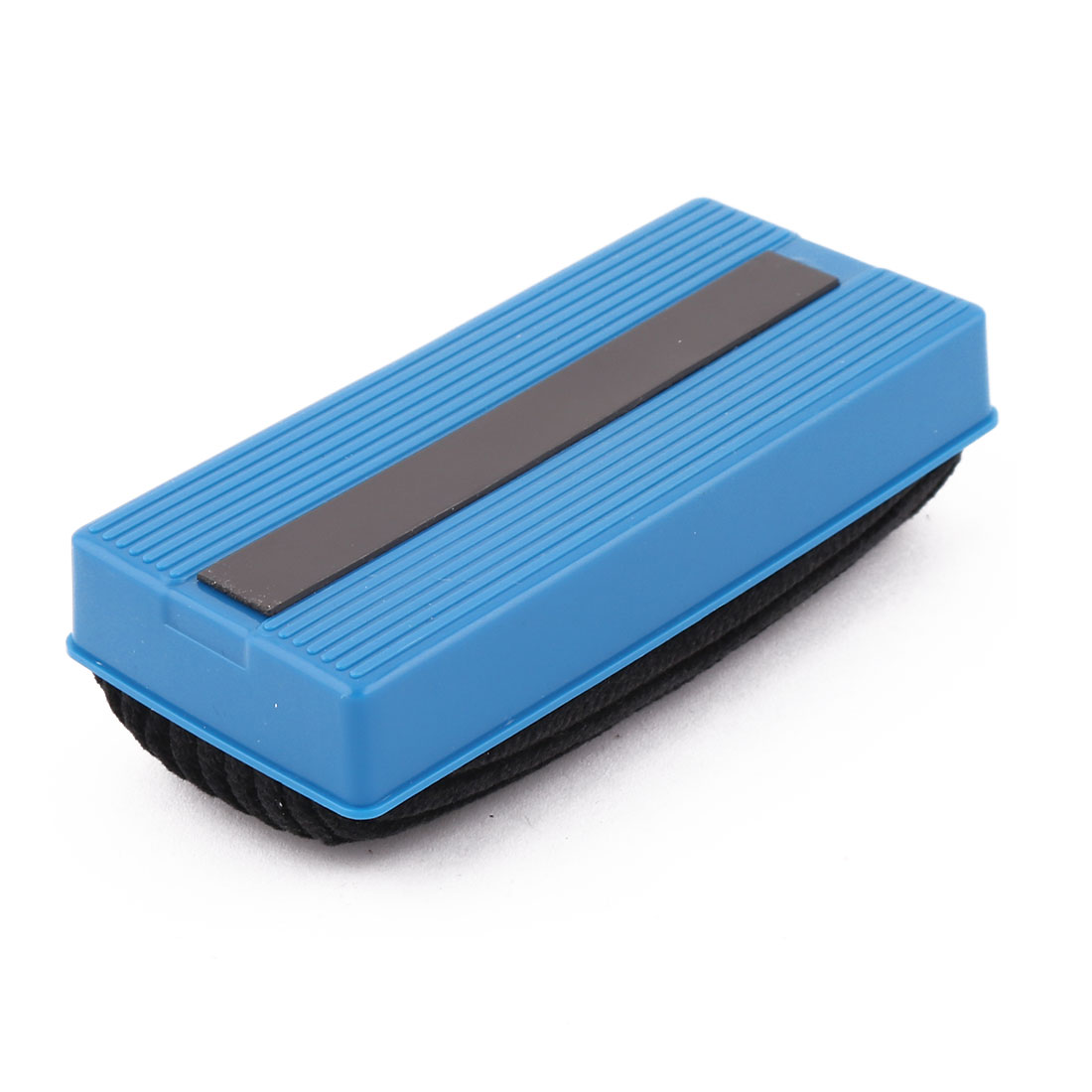 School Office Plastic Shell Rectangle Design Blackboard Whiteboard Cleaner Eraser Blue