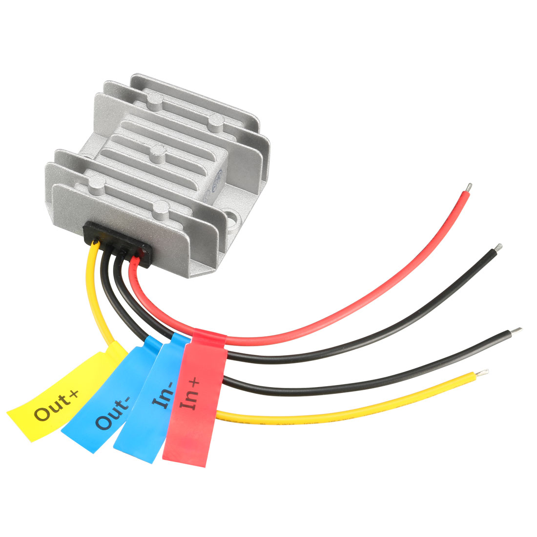 uxcell Voltage Converter Regulator DC/DC DC 9-32V to DC 12V 1A 12W Step Down/Up Transformer Waterproof