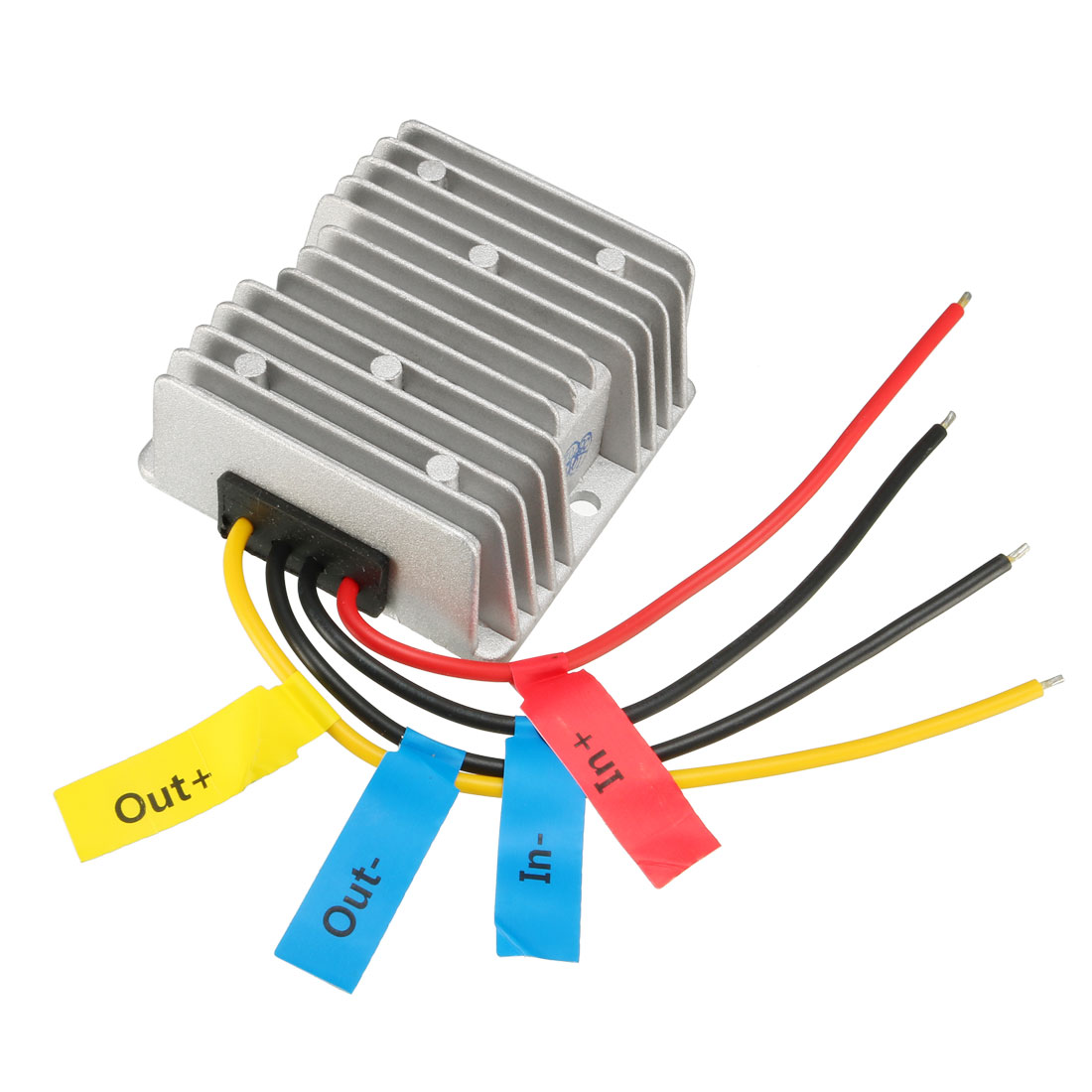 uxcell Voltage Converter Regulator DC/DC DC 10-32V to DC 12V 6A 72W Step Down/Up Transformer Waterproof