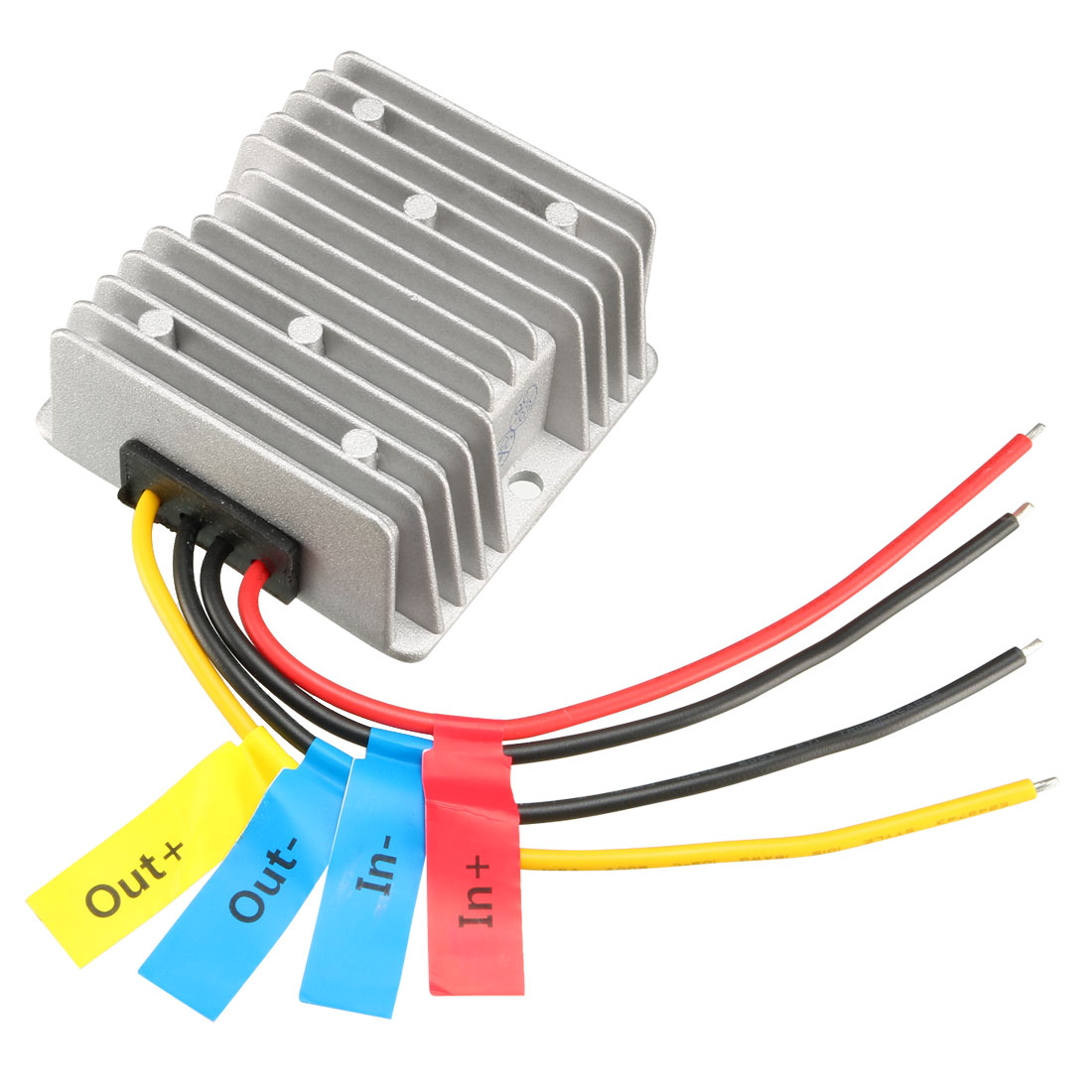 uxcell Voltage Converter Regulator DC/DC DC 9-32V to DC 13.8V 5A 69W Step Down/Up Transformer Waterproof
