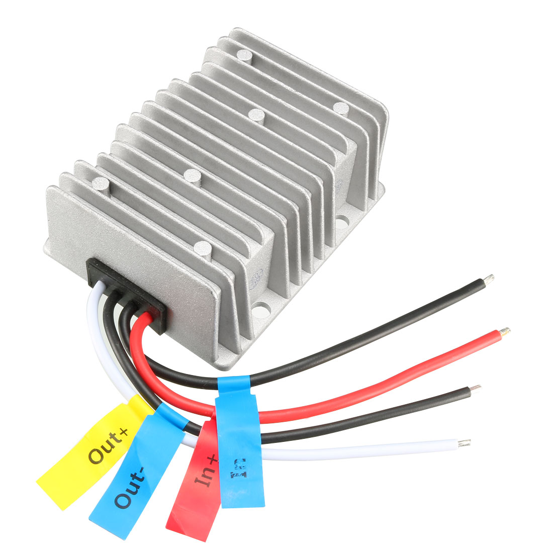 uxcell Voltage Converter Regulator DC/DC DC 12V Step-Up to DC 19V 15A 285W Power Boost Transformer Waterproof
