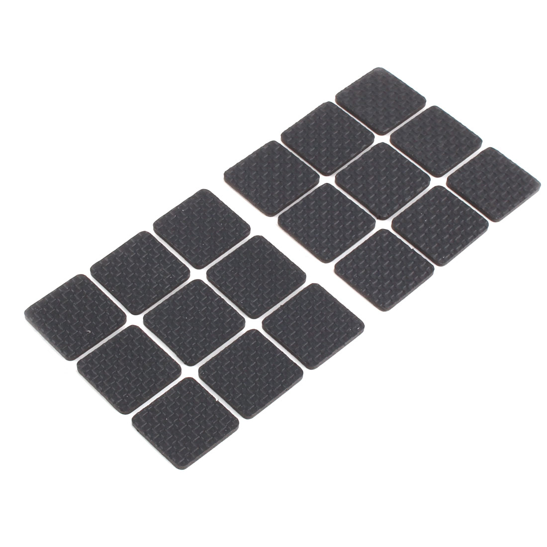Home EVA Square Table Chair Furniture Protector Cushion Pads Mat 27 x 27mm 18pcs