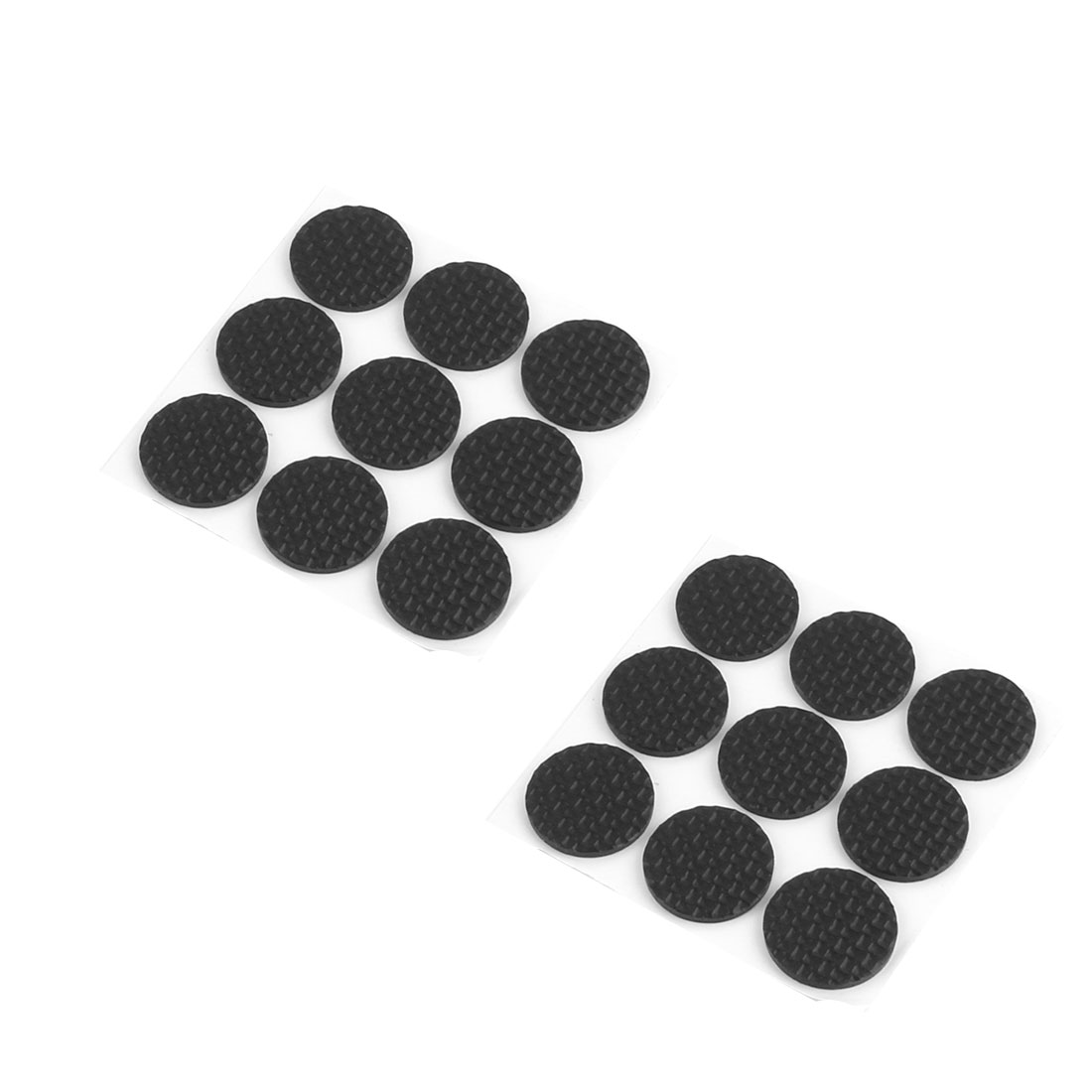 Home Rubber Round Table Chair Furniture Protector Cushion Pads Mat 26mm Dia 18pcs