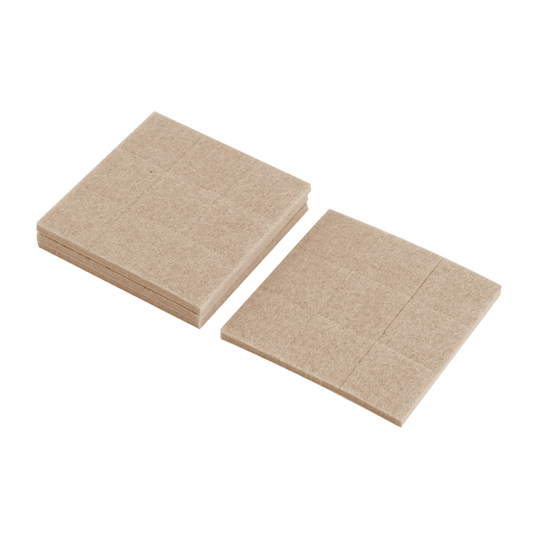 Home Square Table Chair Furniture Protector Felt Pads Cushion Mat 27 x 27mm 32pcs