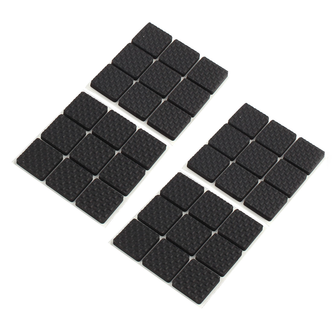 Home EVA Square Table Chair Furniture Protector Cushion Pads Mat 27 x 27mm 36pcs