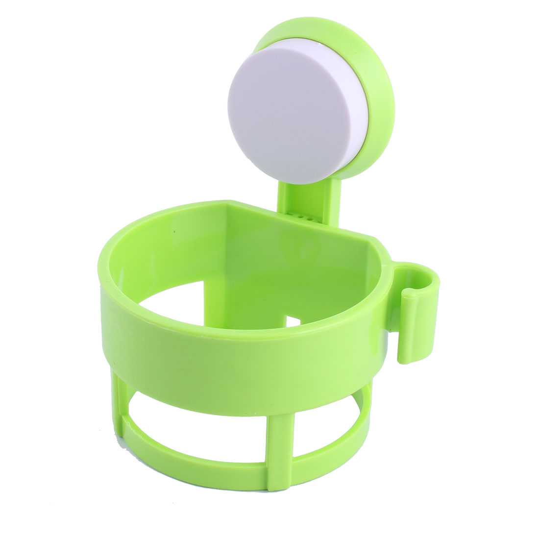 Home Bathroom Plastic Wall Suction Cup Hair Blow Dryer Holder Hanger Stand Green