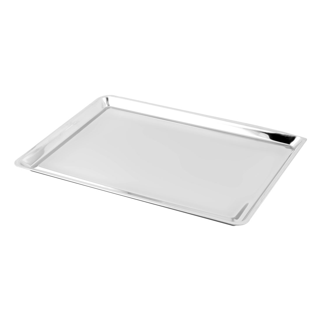 Canteen Restaurant Metal Rectangle Shaped Snack Salad Food Dish Plate