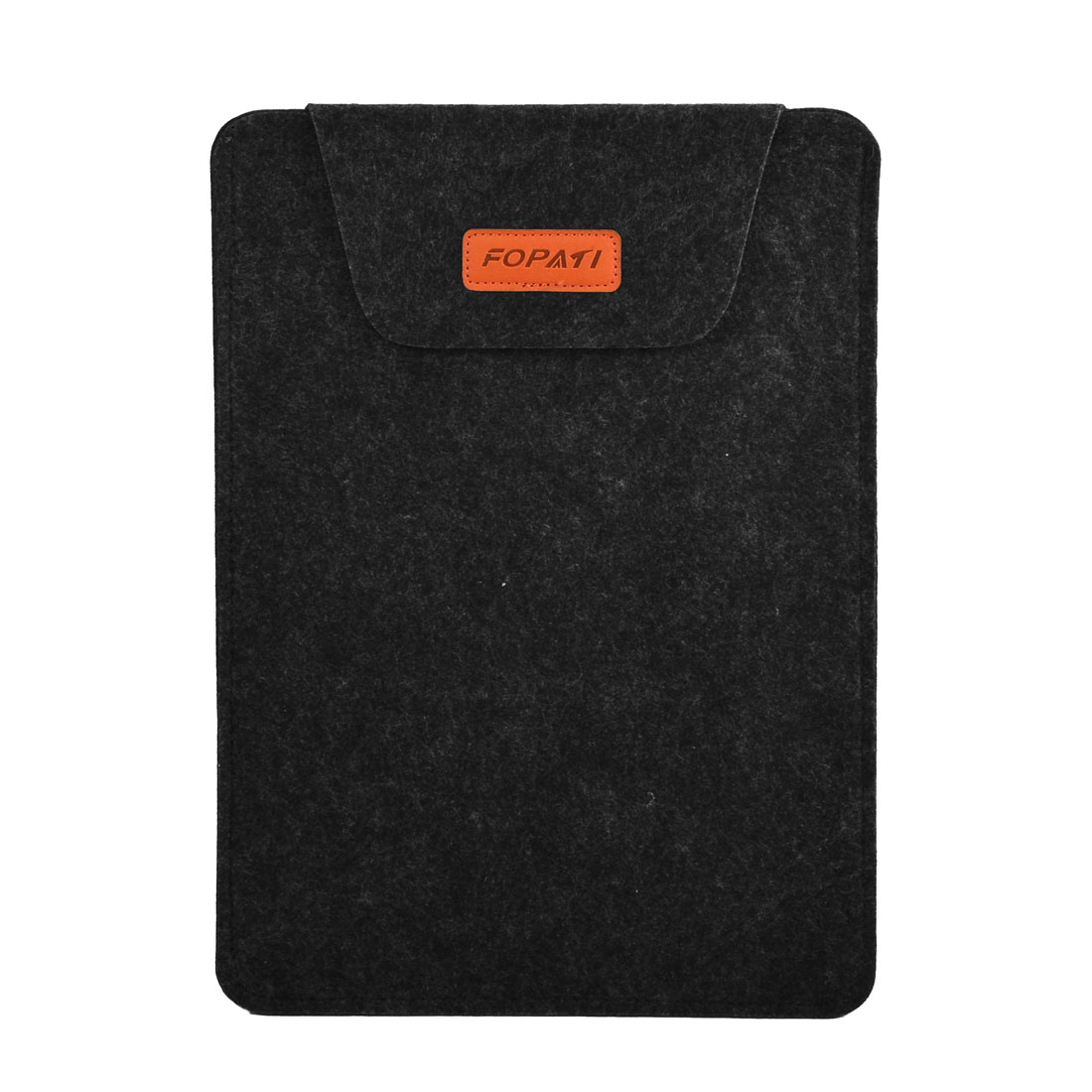 Office PC Computer Wool Felt Universal Protective Skin Bag Notebook Sleeve Case Black for 14 Inch Laptop