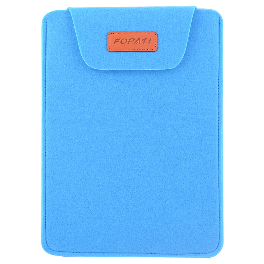PC Wool Felt Universal Protective Bag Notebook Sleeve Case Blue for 12 Inch Laptop