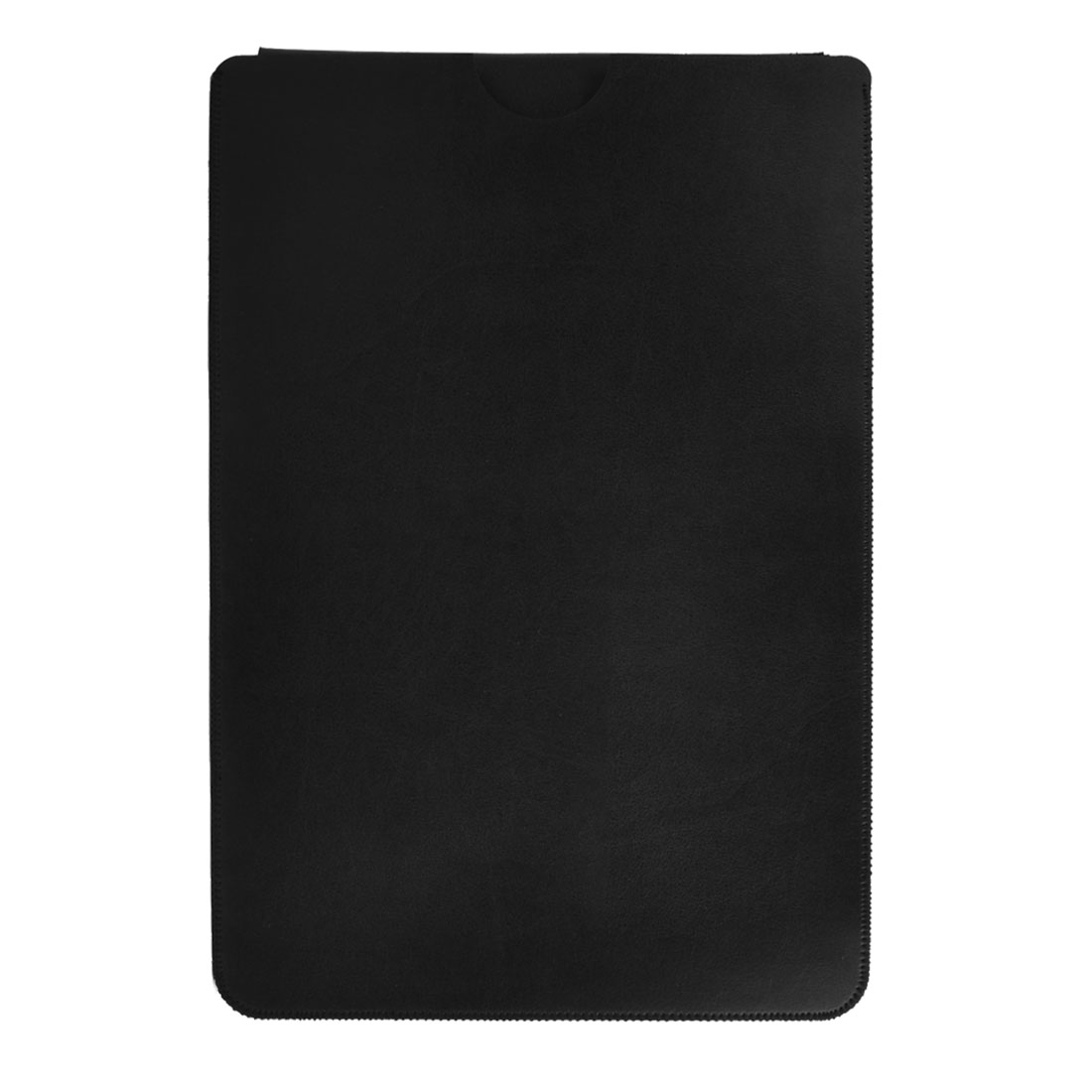 Office Computer PU Leather Carry Bag Pouch Laptop Sleeve Black for Macbook Air 11 Inch