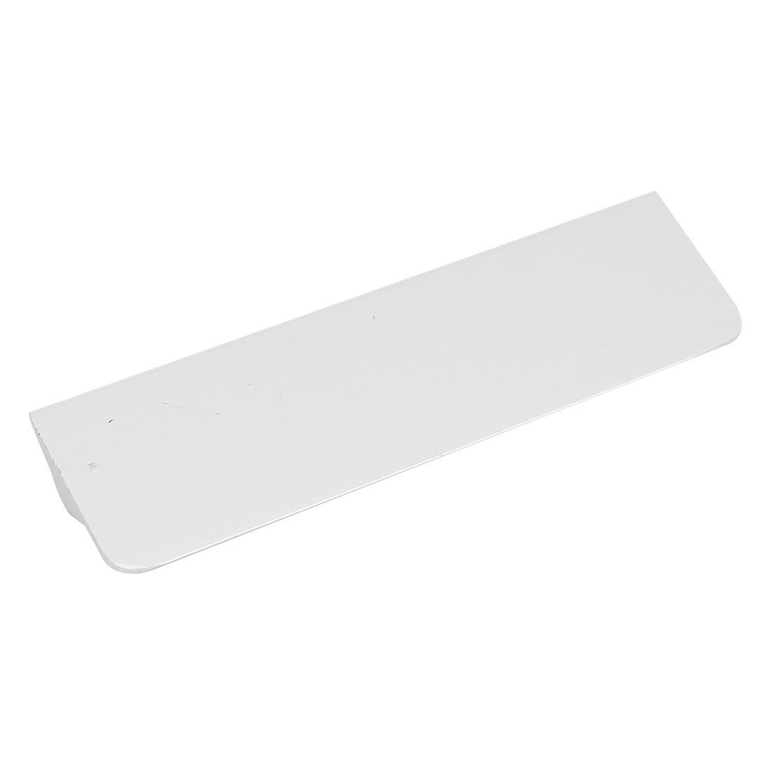 Cupboard Wardrobe Door Metal Pull Handle Knob White 139x35x20mm