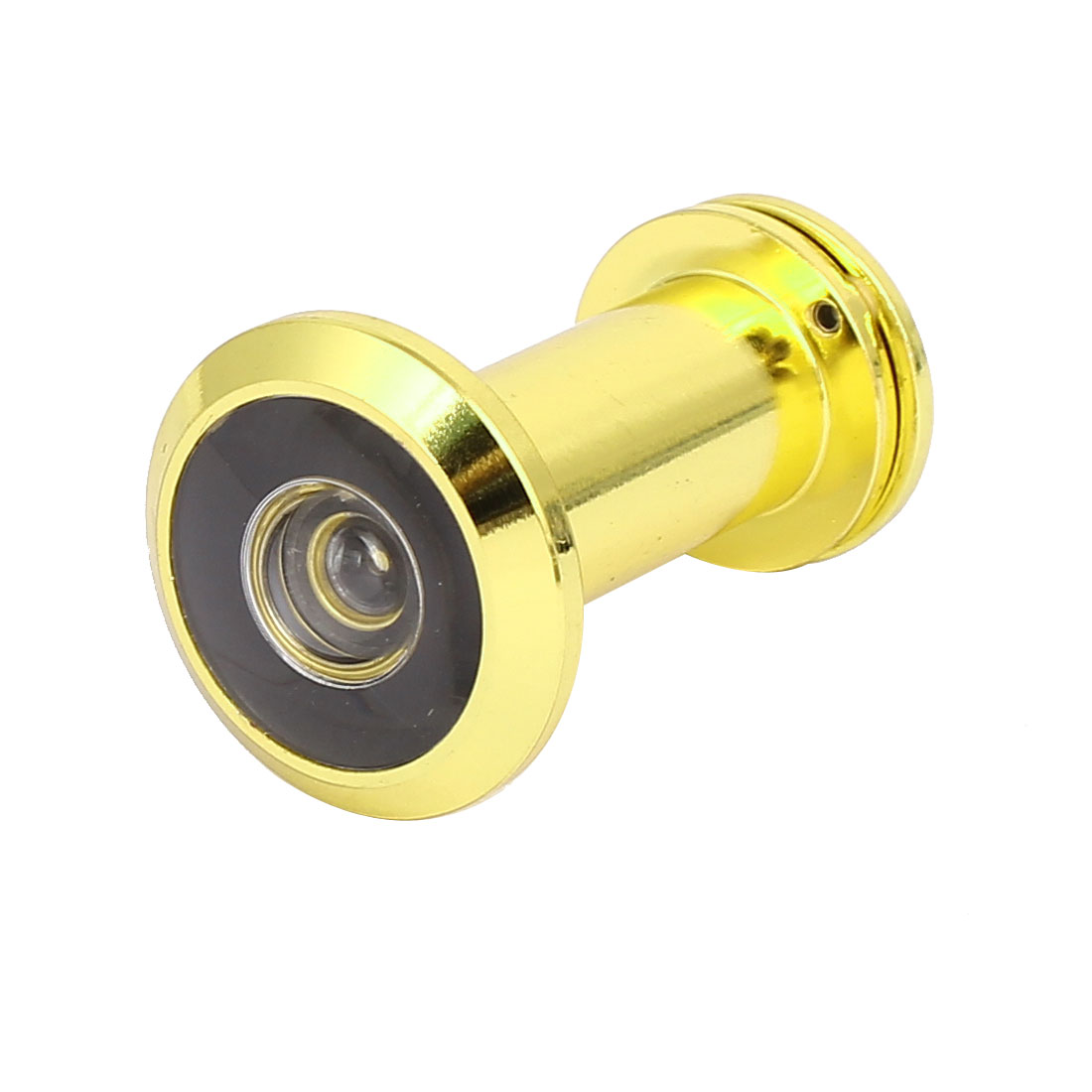 16mm Diameter 180 Degree Wide Angle Door Viewer Peephole Gold Tone