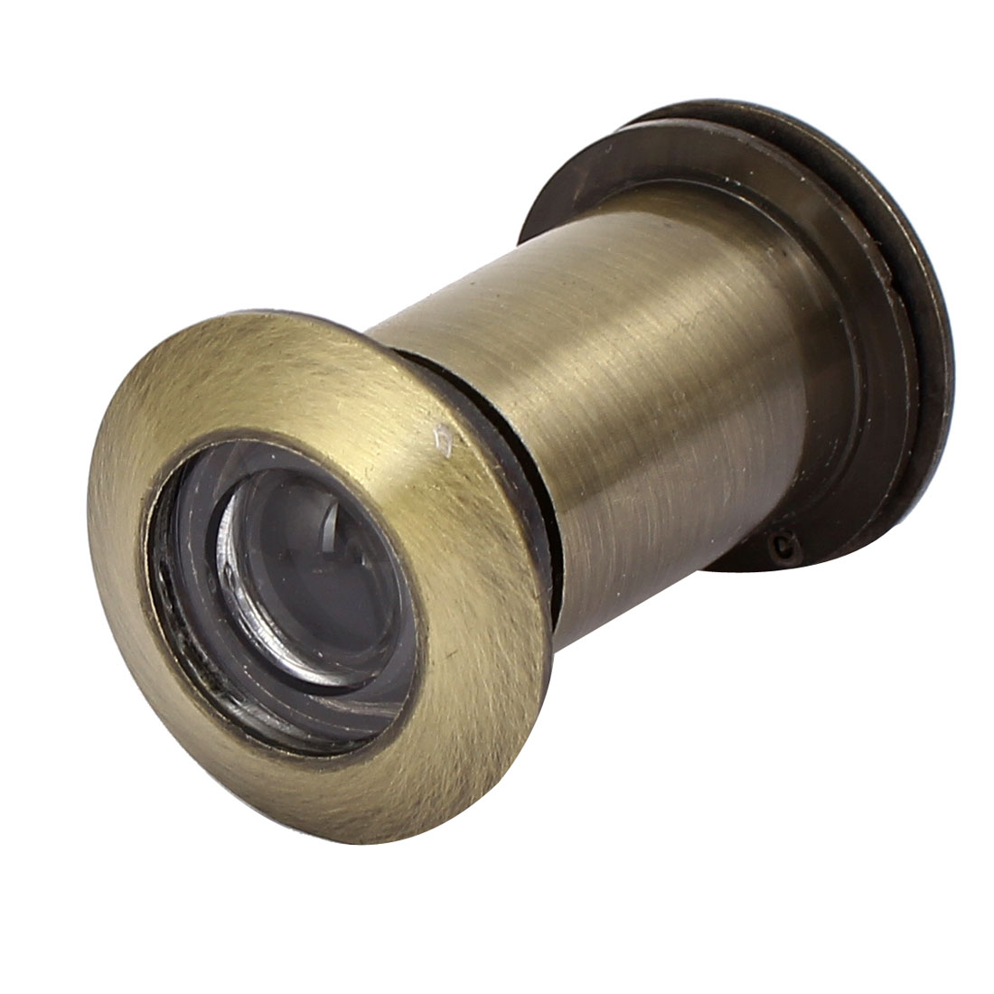 26mm Diameter 220 Degree Wide Angle Door Viewer Peephole Bronze Tone