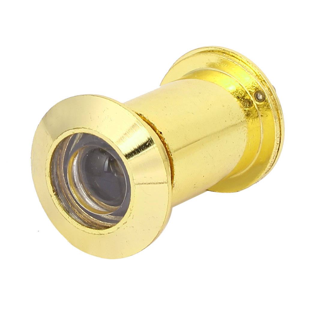 26mm Diameter 220 Degree Wide Angle Door Viewer Peephole Gold Tone