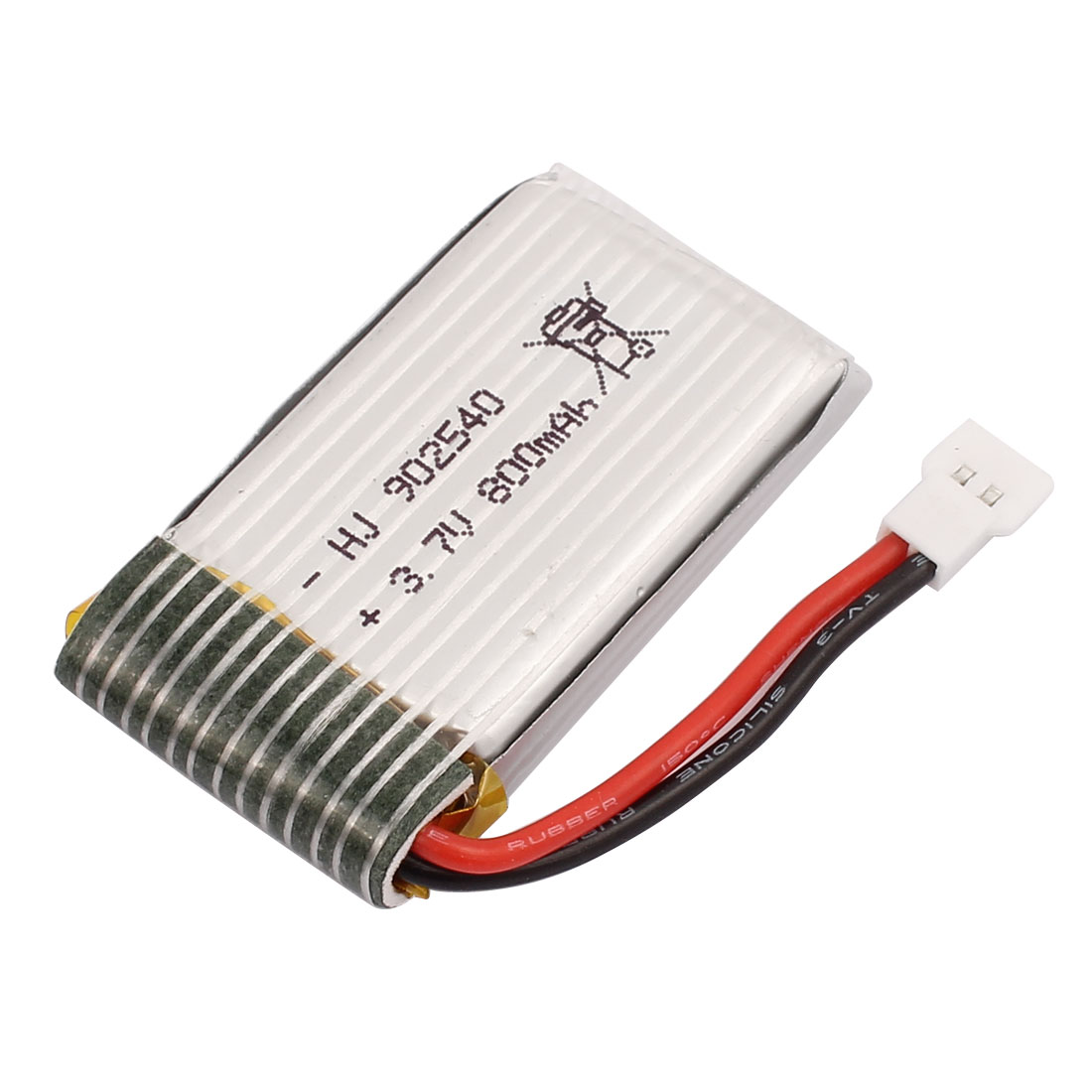 3.7V 800mAh Rechargeable Lithium Lipo Battery for X5C X5SC X5SW RC Helicopter