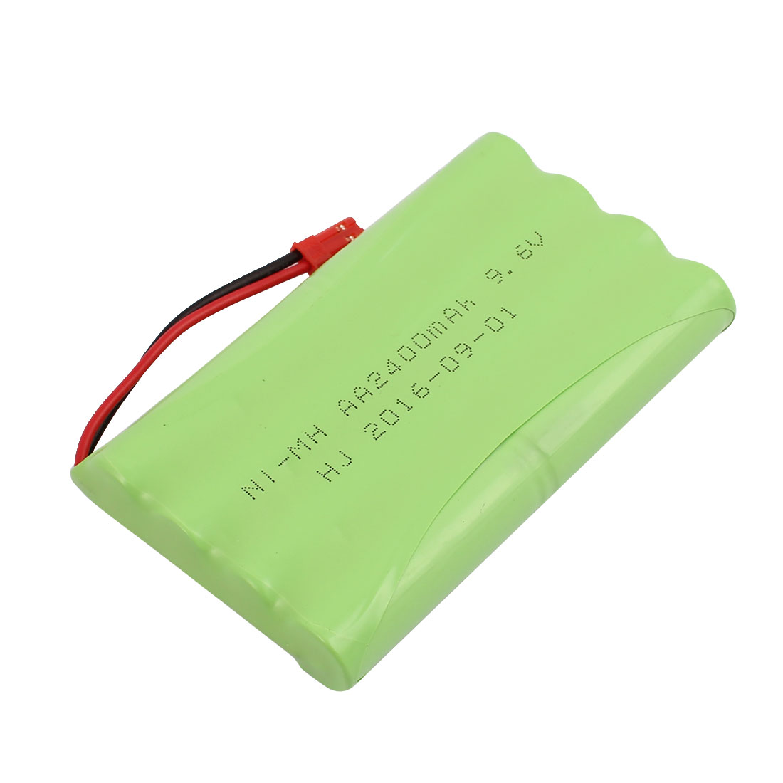 JST-2P AA 9.6V 2400mAh Ni-MH Rechargeable Battery Pack for RC Car Aircraft