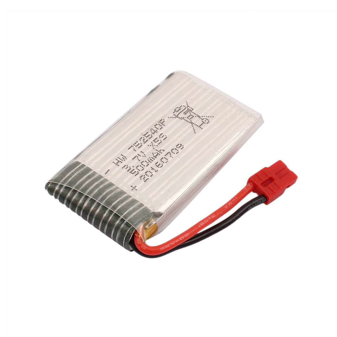 3.7V 500mAh Charging Lithium Polymer Li-po Battery XH-4.0 Connector for RC Airplane Aircraft