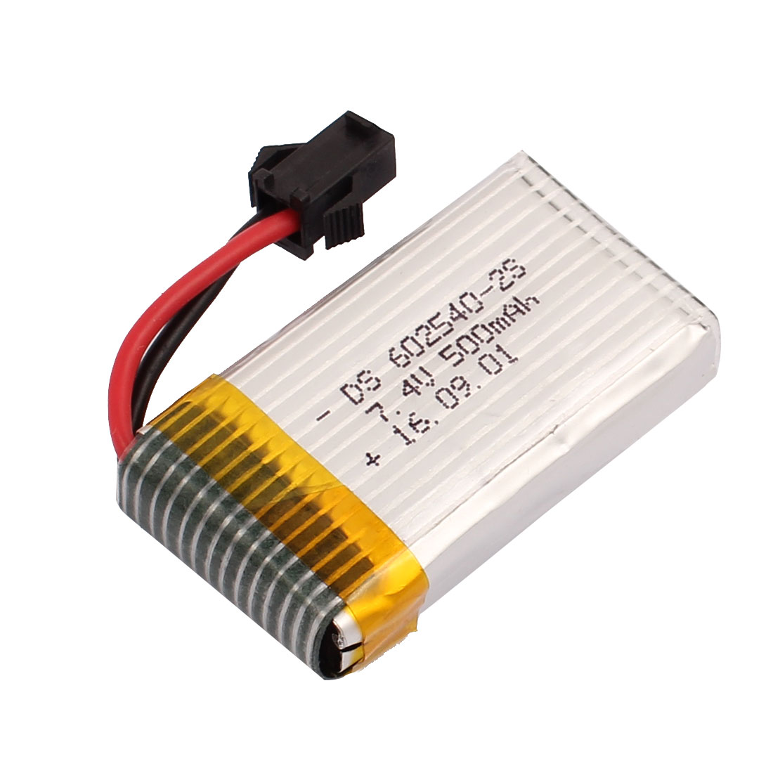 7.4V 500mAh Charging Lithium Polymer Li-po Battery SM-2P Connector for RC Airplane Aircraft