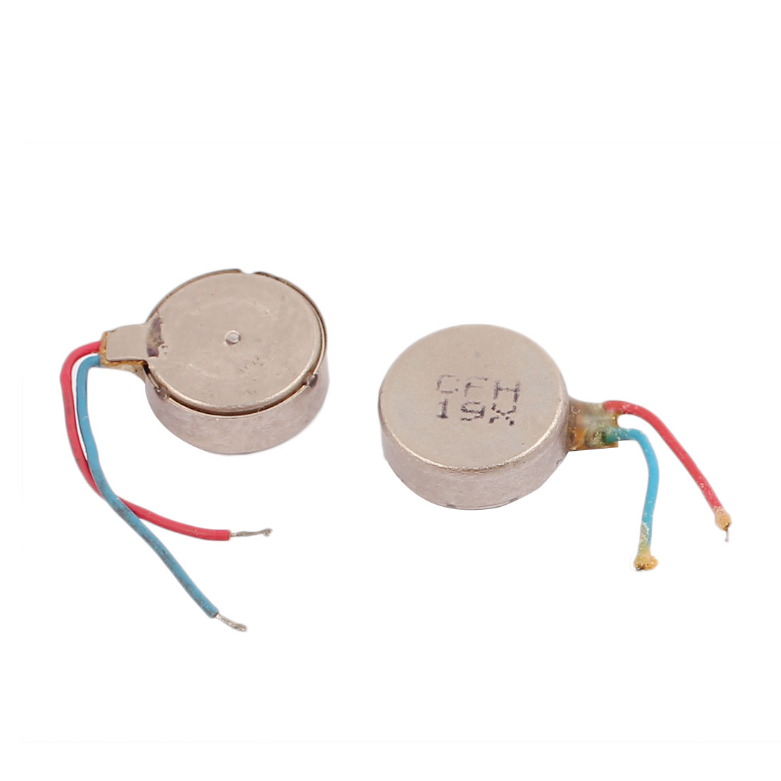 2Pcs DC3V 12000RPM Mobile Phone Vibrating Motor Flat Coin Vibration Mini Motor