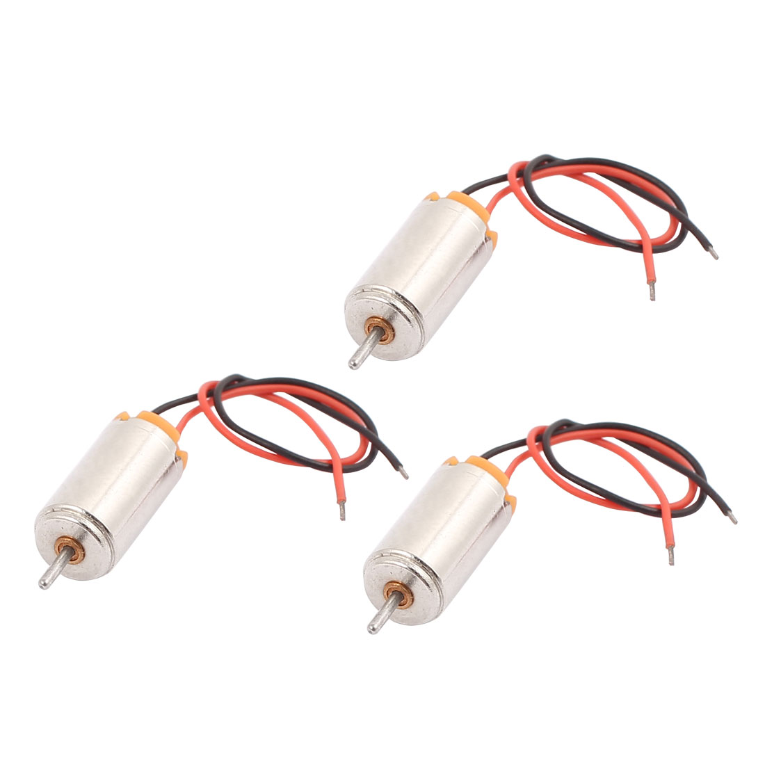 3Pcs DC1.5-4.5V 44273RPM Large Torque Micro Coreless DC Motor for Airplane Model