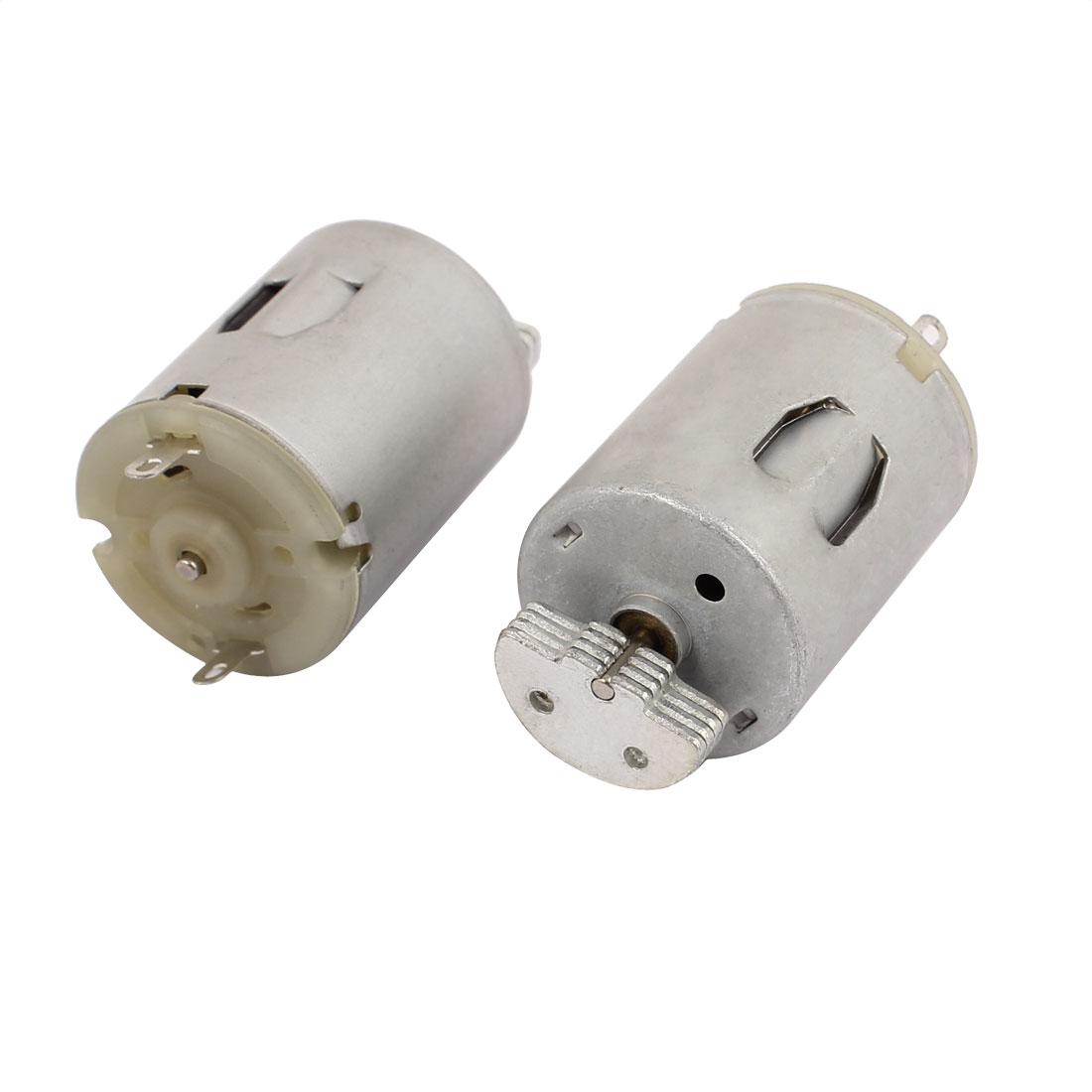 2Pcs DC 3-9V 13500RPM Large Torque Micro Vibration DC Motor for Electric Massage