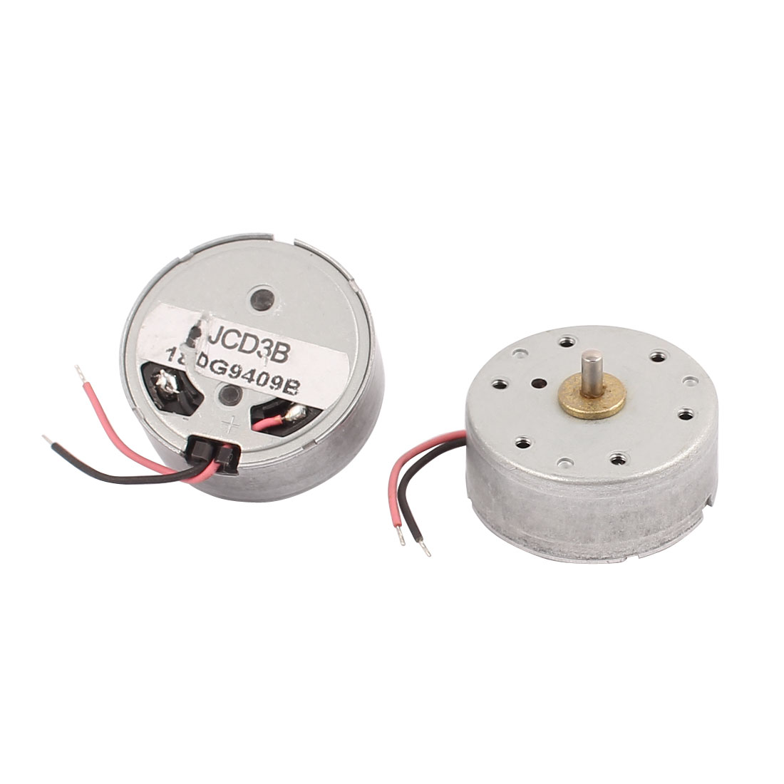 2Pcs DC 3-5V 7500RPM Large Torque Cylindrical Micro Motor for Electric Massage