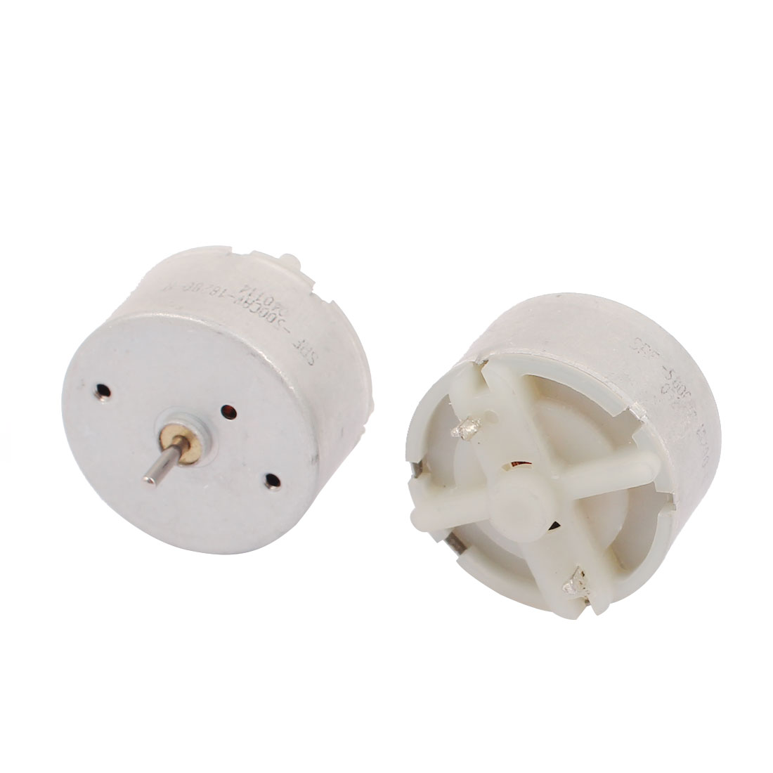 2Pcs DC 3-12V 18000RPM Large Torque Cylindrical Micro Motor for Electric Massage