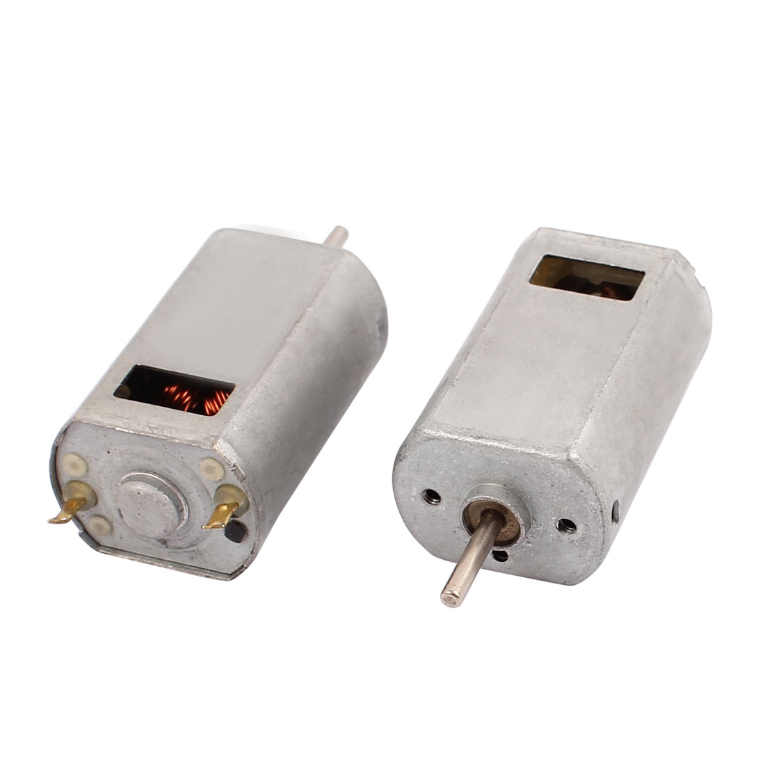 2Pcs DC 1.5-12V 22400RPM Large Torque Strong Magnet Micro DC Motor for Electric Toy