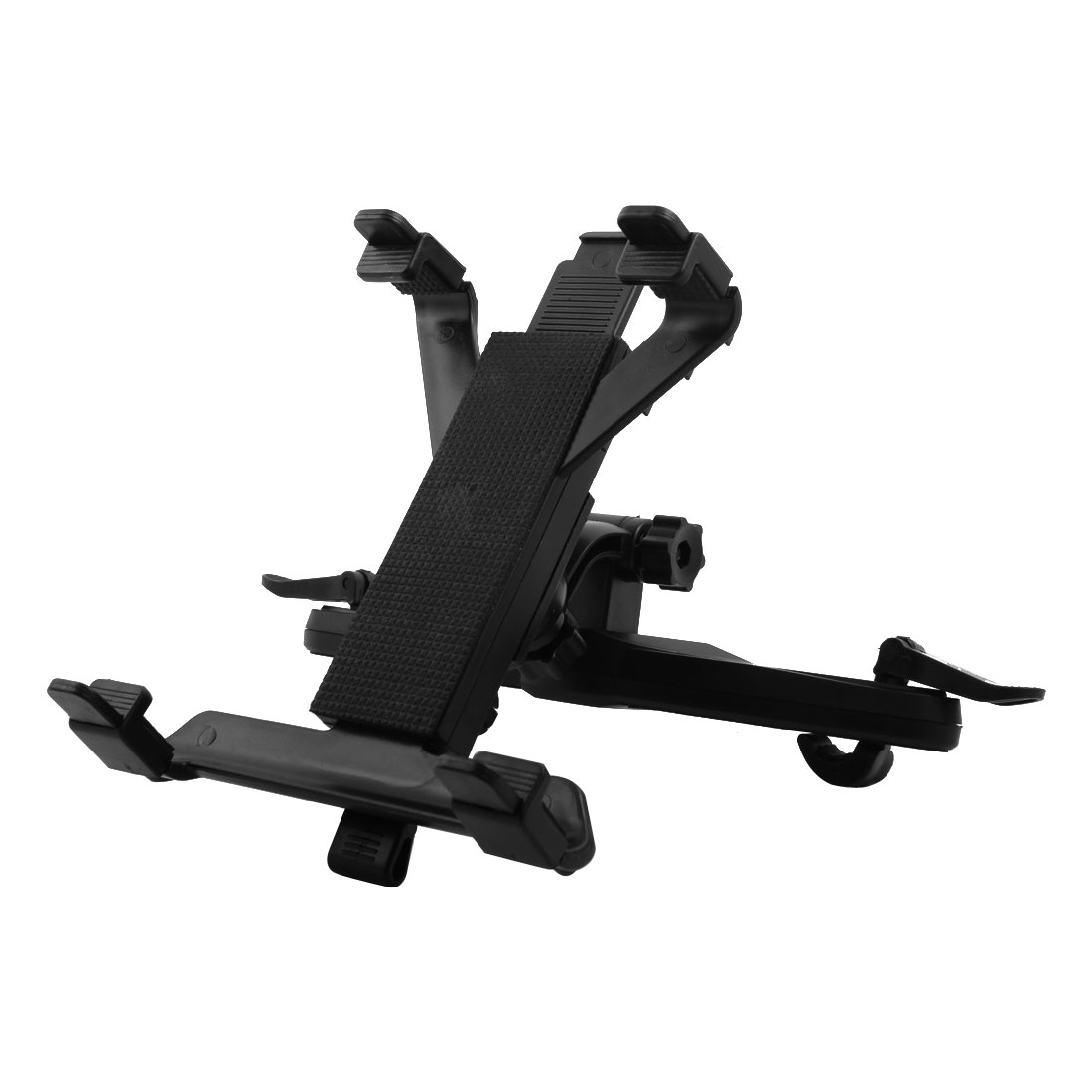 Tablet PC Universal Car Headrest Holder Mount Stand Cradle Clip Bracket Black