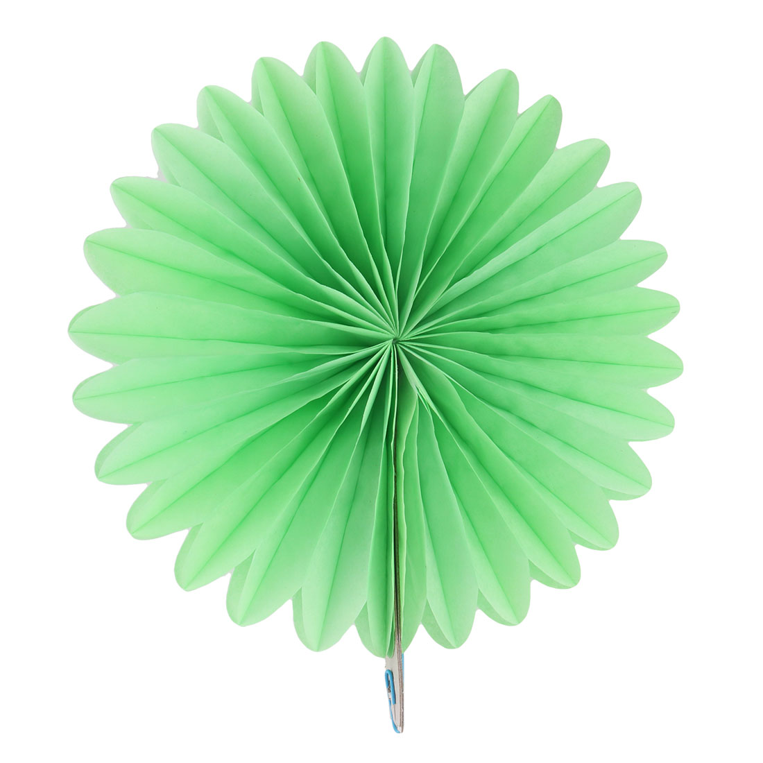 Tissue Paper Wedding Party Hanging Decoration Wheel Fan Honeycomb Flower Green