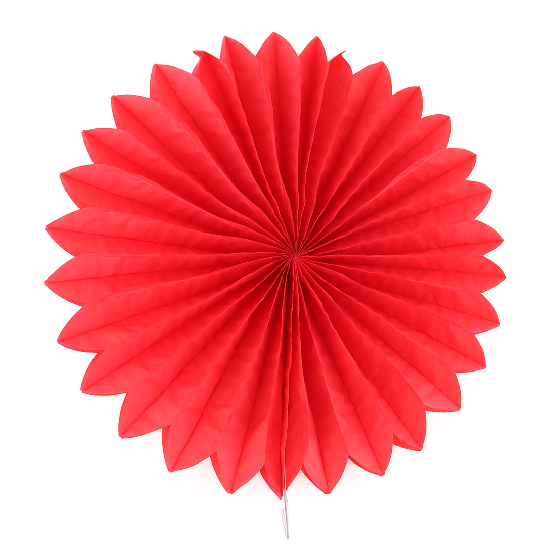 Paper Blossom Fan Flower Red for Party Birthday Shower Festival Wedding Home Decoration