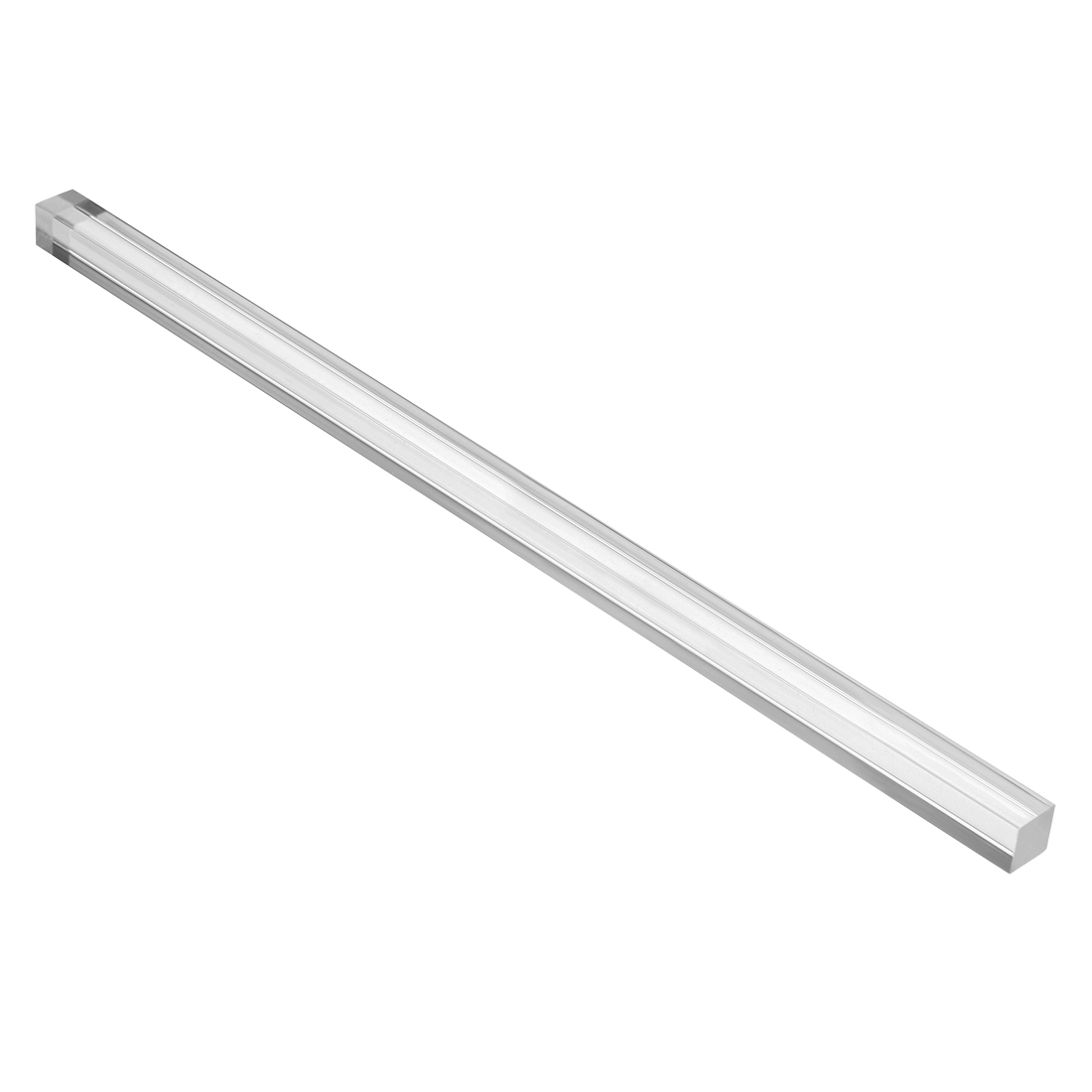 Acrylic Rectangular Shaped Rod PMMA Bar Clear 10mmx10mm 10 Inch Long