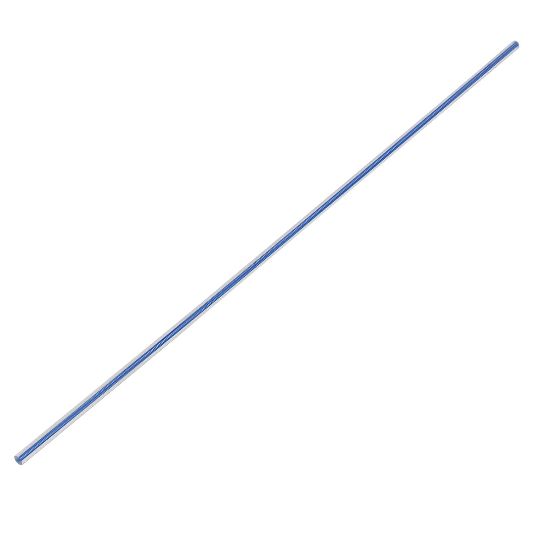 Straight Dark Blue Line Solid Acrylic Round Rod PMMA Bar 500mmx6mm