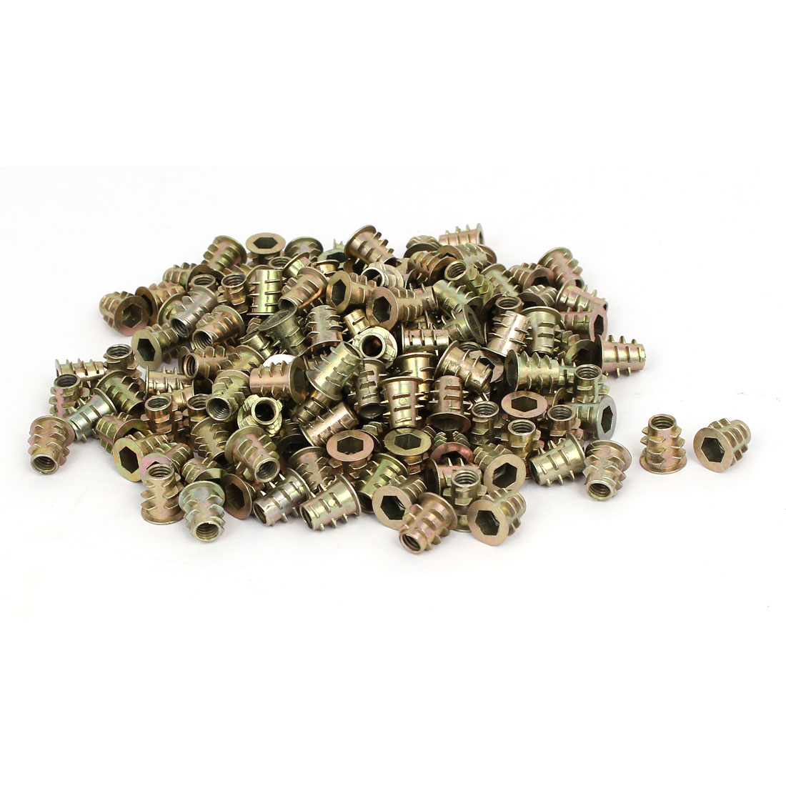 M5 x 10mm Hex Socket Head Insert Screws E-Nuts Furniture Fittings 200pcs