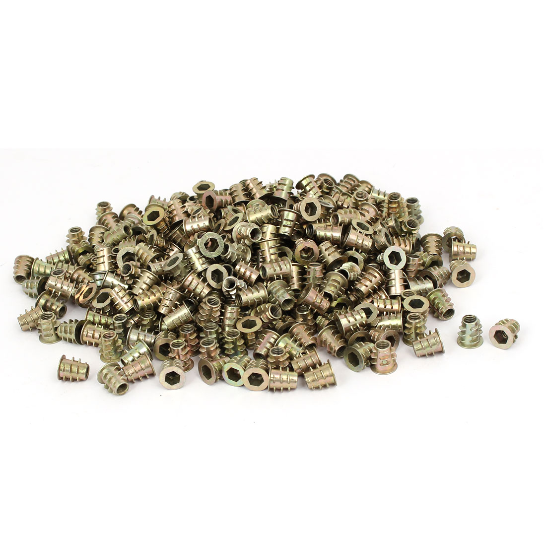 M5 x 10mm Hex Socket Head Insert Screws E-Nuts Furniture Fittings 500pcs